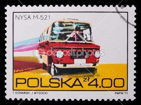 Nysa stamp