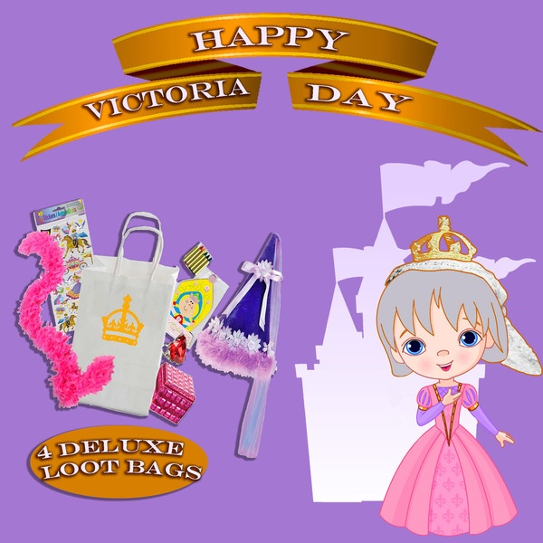 Victoria Day Giveaway! In honour of Queen Victoria's 194th Birthday ... 4 Deluxe Princess Loot Bags!