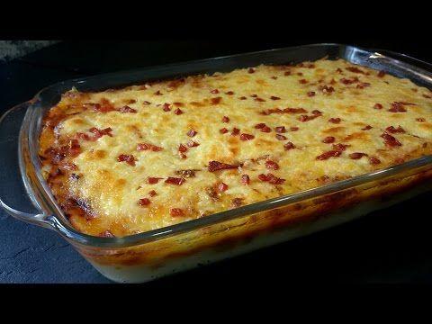 Pastel de puré de patata con carne - Anna Recetas Fáciles