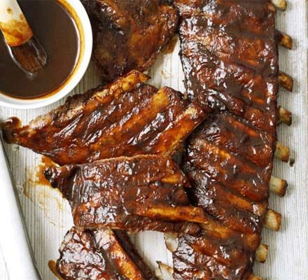 ... Bbq Ribs, Ribs Recipe, Grilled Baby, Bbq Grilled, Food Dinners, Dr