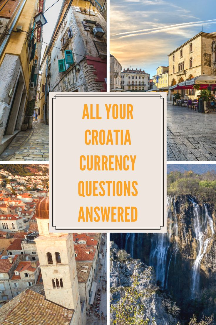 Forums About The Croatian Kuna I Decided It Was Time To Write A Practical Post Country S Currency In This Blog Ll Check Out How Expensive