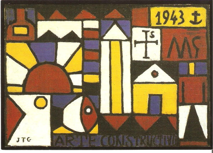 Famous Uruguayan artist Joaquin Torres-Garcia