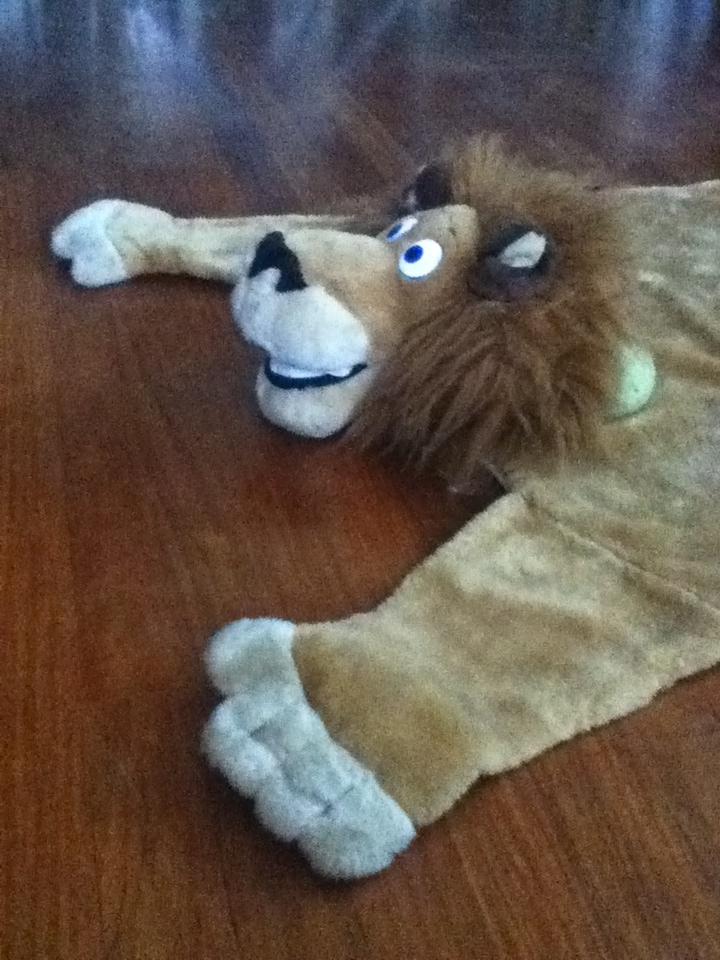 I killed Alex the Lion!  :))