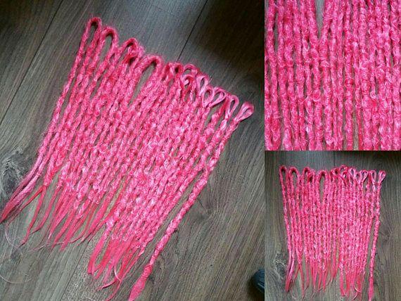 Bekijk dit items in mijn Etsy shop https://www.etsy.com/nl/listing/551181733/16-pink-neon-dreads
