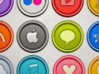 Social Badges by Estudio Goró
