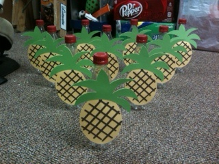 Hawaii Birthday Party Pineapple Bowling What You Need