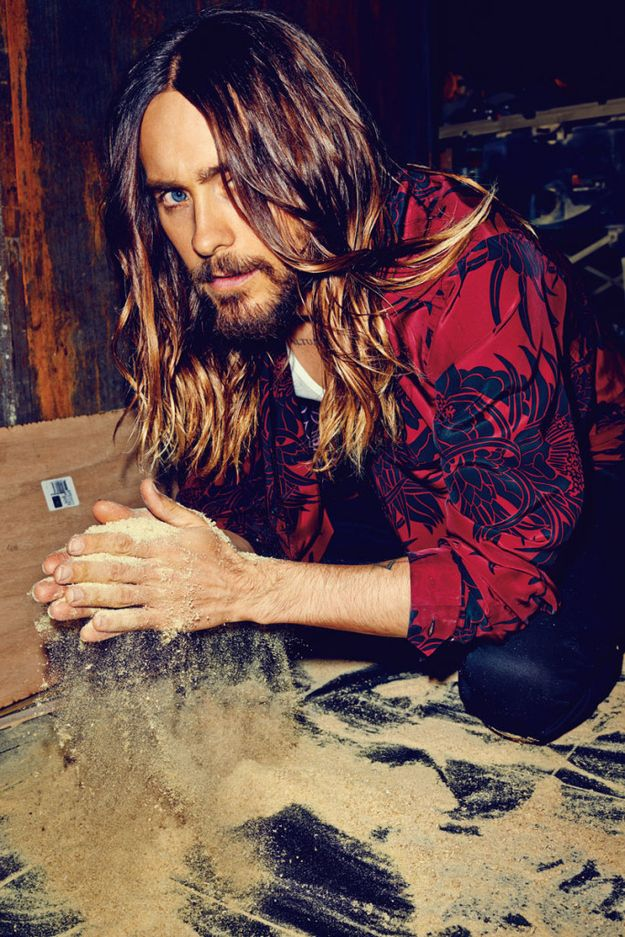 """more Leto lovin' on Buzzfeed: Jared Leto Looks Absolutely Flawless For """"Flaunt"""" Magazine"""