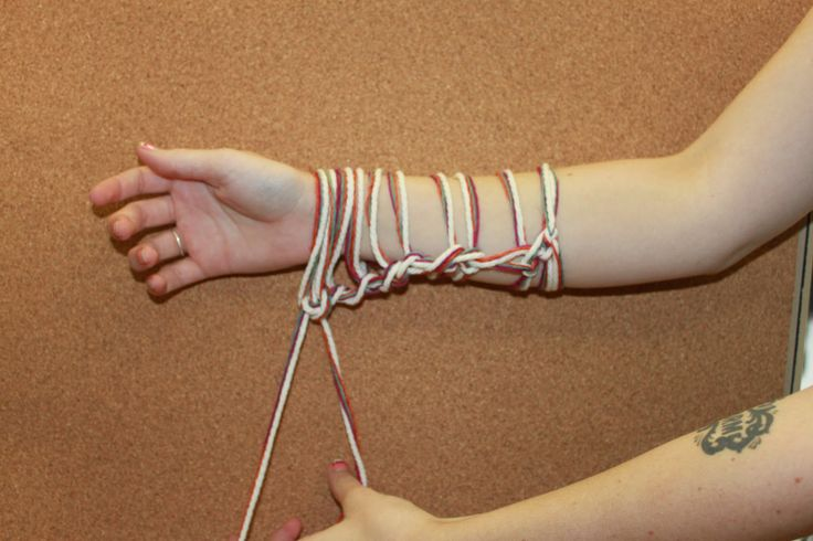 Arm knitting: instructions (IDK how I feel about this, might be worth a try)