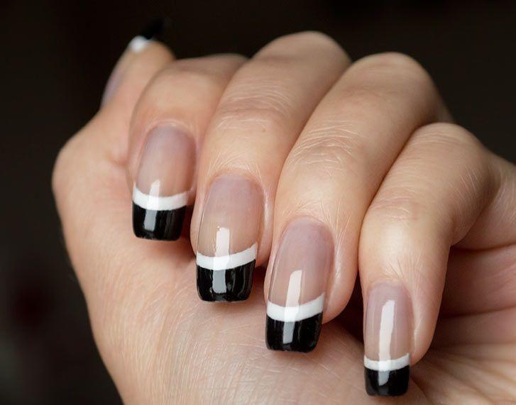 15 Increíbles ideas para diseñar tus uñas con un manicure francés. ¡Tienes  que intentarlo!