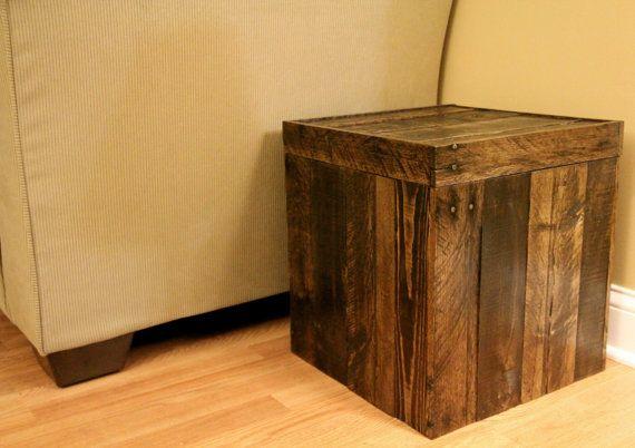 Wiedergewonnenen+Palette+Holz+Möbel++Lagerung+von+FasProjects,+$135.00
