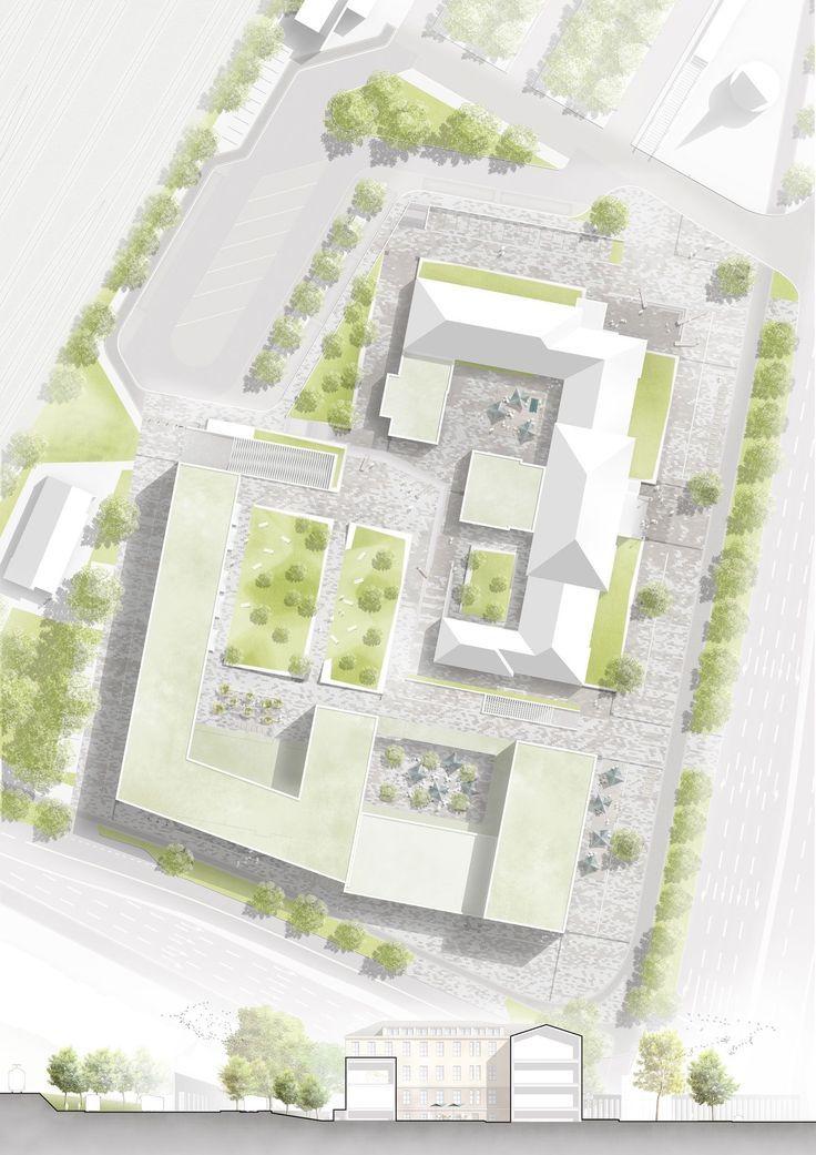 Urban Site Plans Urban Design Urban Design Plan Urban Landscape Design Landscape Architecture Design