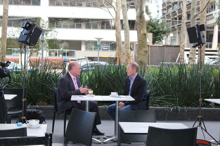 Quantum Financial's Tim Mackay and ABC TV's Andrew Robertson discussing recent market volatility on the Finance Quarter program.