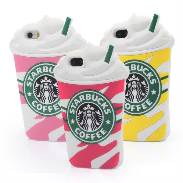 Starbucks 3D Silicone Coffee Cup Phone Case Cover For iPhone 5S 6 6plus Samsung #Maxfind