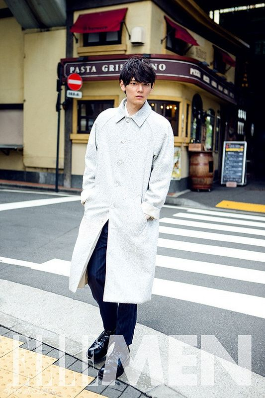 Furukawa Yuki in ELLE MEN | A Dramatic Life