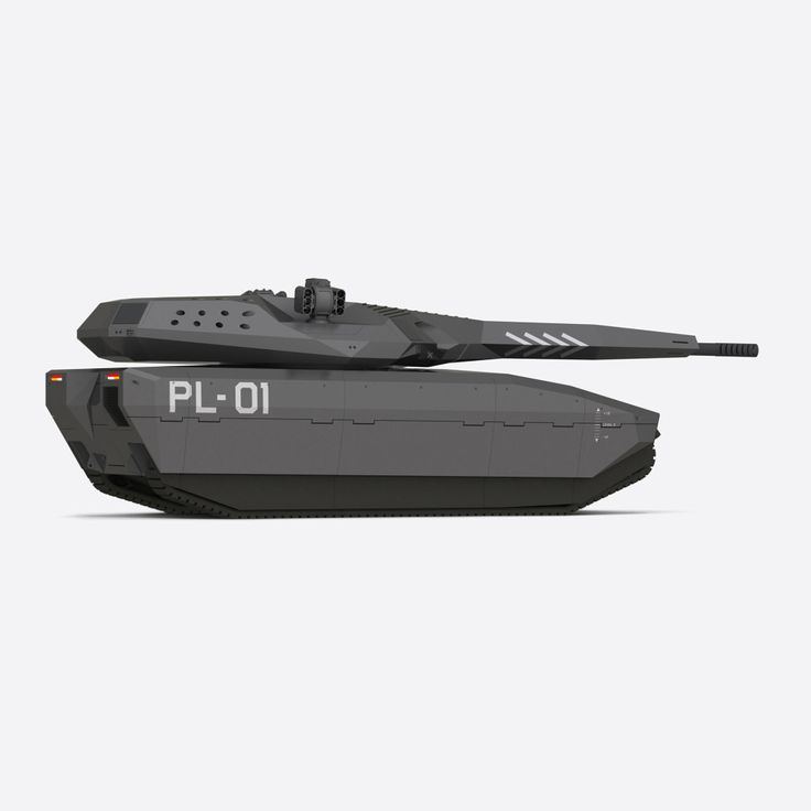 "PL-01 CONCEPT  ""STEALTH TANK"" - DIRECT SUPPORT VEHICLE FOR OBRUM (PGZ SA) design by SOKKA http://sokka.com/"