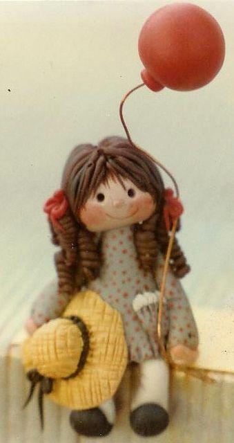 *POLYMER CLAY ~ doll