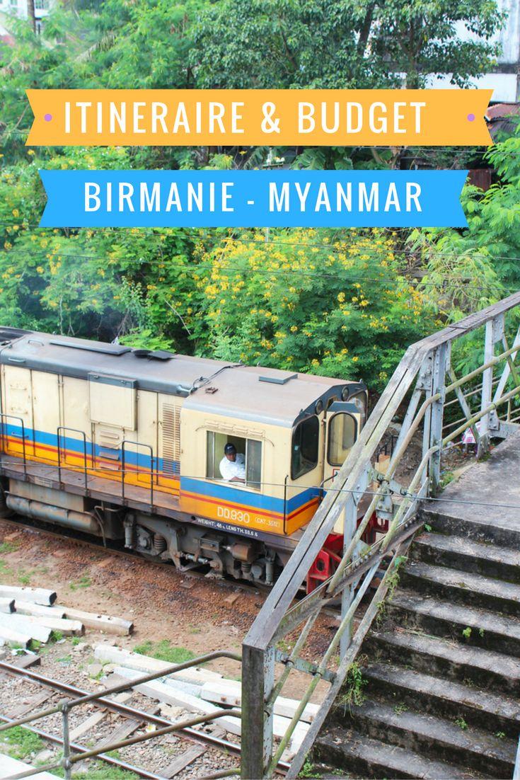 Itinéraire en Birmanie (Myanamar) Budget et liens utiles