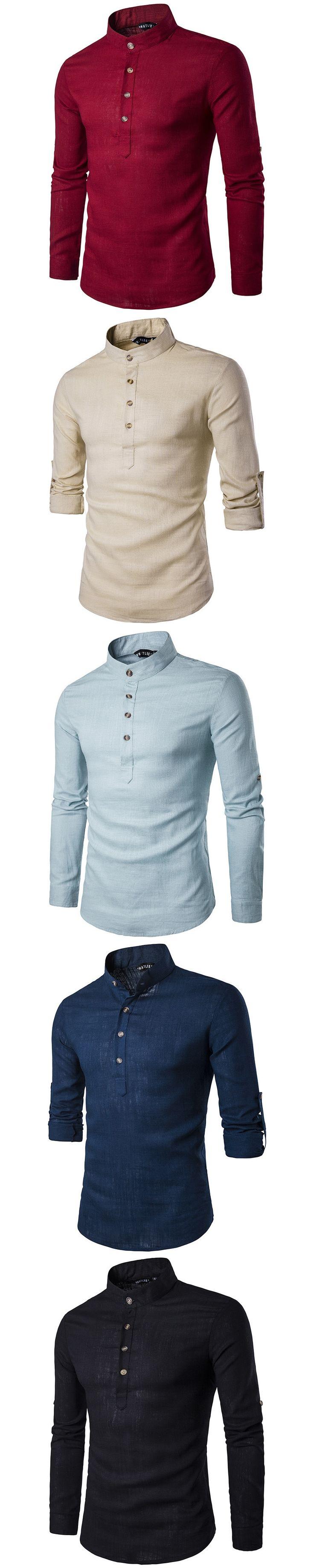 Fashion Men Shirts Long Sleeve Solid Line Shirt Pullover Men Tops Slim Fit Tuxedo Groom Male Shirts S-XXL 2017 European Size B17