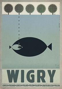 Ryszard Kaja - Wigry, Polish Promotion Poster