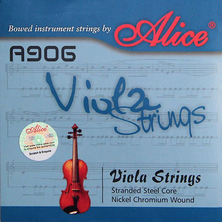 NEW Alice A906 classical viola strings A906 /Clear Nylon strings #Affiliate