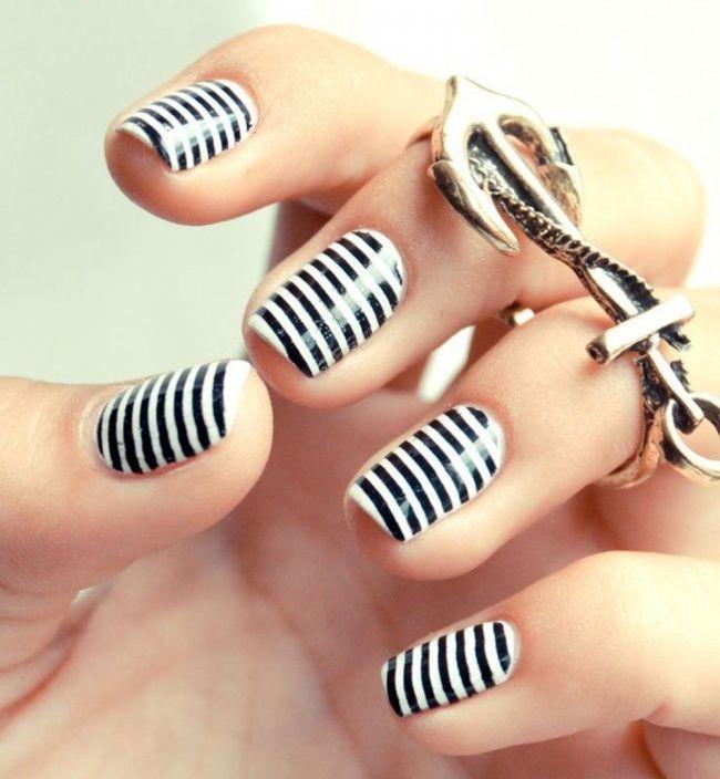 Ofato devocê não ter unhas compridas não quer dizer que elas não possam ficar lindas.