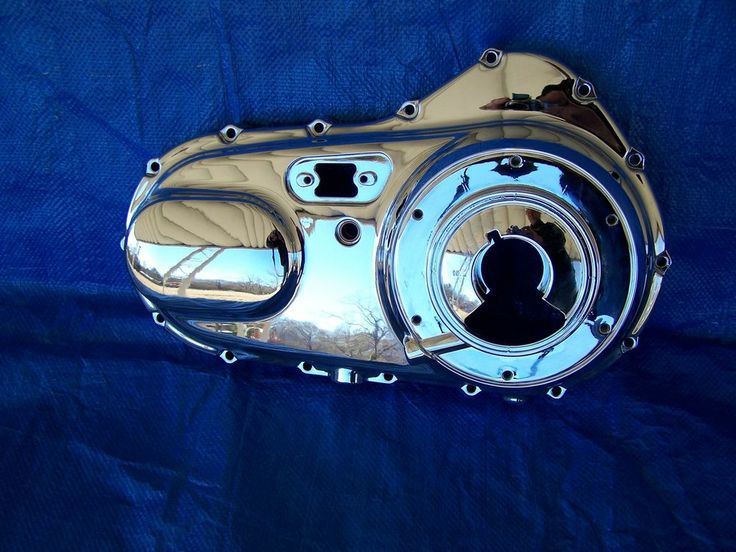 Harley Davidson OEM XL Chrome Outer Primary Cover Part #25460-04