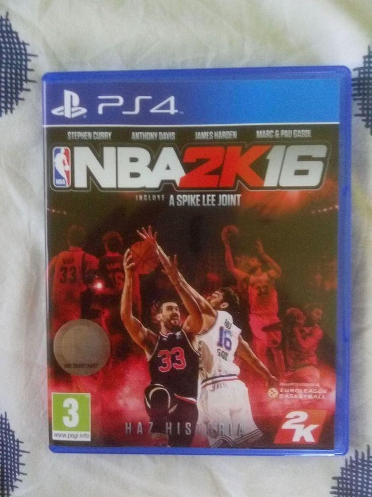 Juego NBA 2k16 ps4 cd físico instrucciones