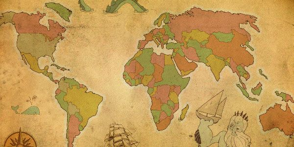 20 Free Files Of Vector Maps