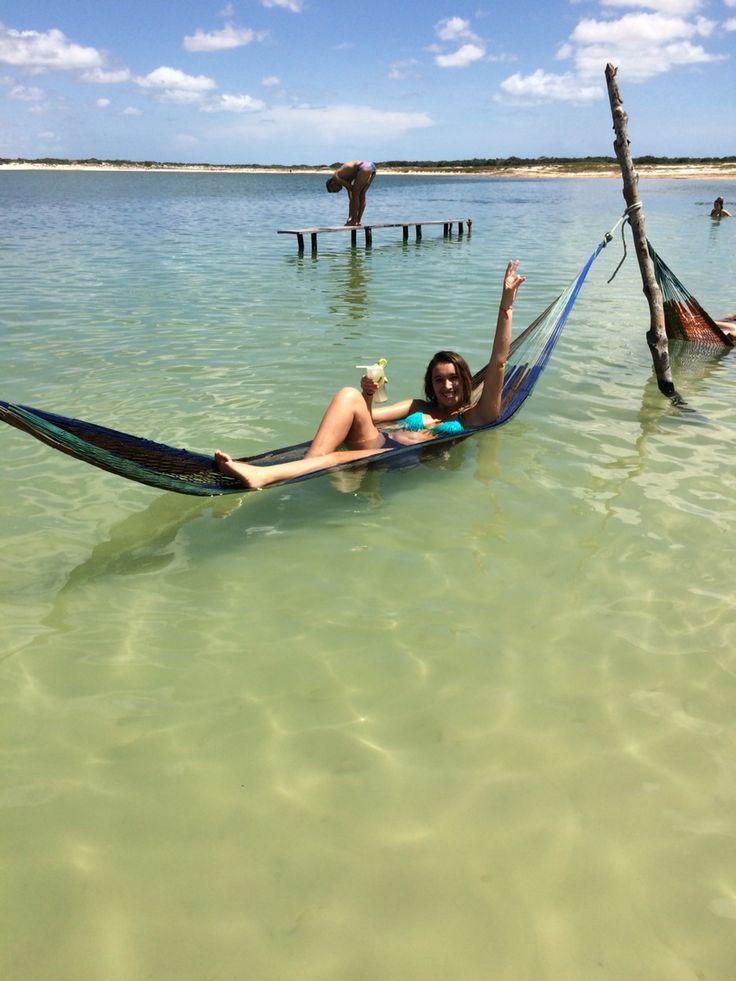 Lagoa azul e uma caipiroska maracujá