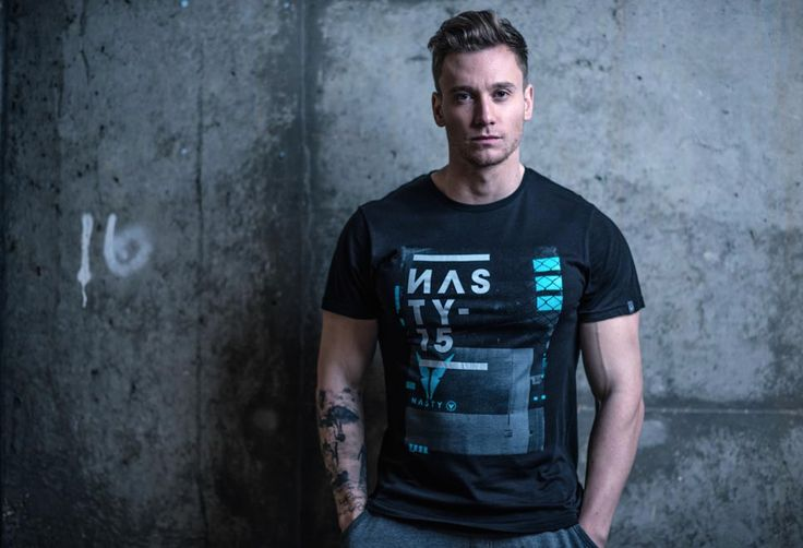 Fitted Mash Up T-Shirt by Nasty Lifestyle.  Get yours today!  CrossFit Apparel, Gym Apparel, Fitness Apparel, Mens Lifestyle,