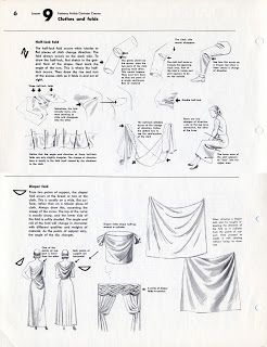 Famous Artist's Cartoon Course: Lesson 9: Clothes and Folds (ссылка)