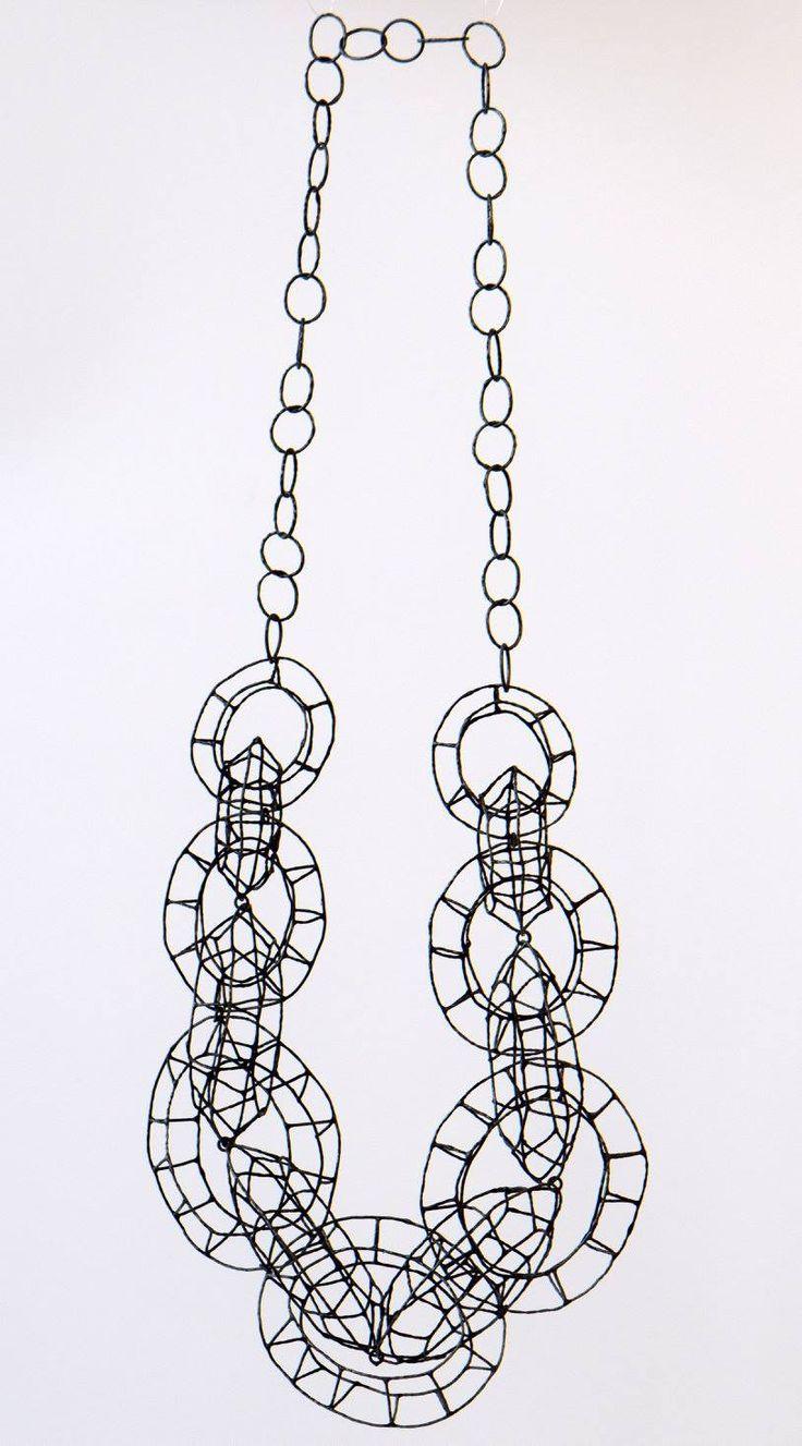 Jenny Edlund - Building Necklace - Silver http://fancytemplestore.com