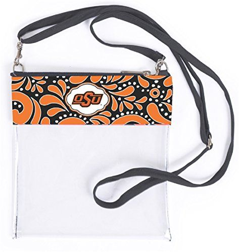 GEAR UP FOR GAME DAY! Oklahoma State Cowboys Clear Gameday Crossbody Bag Sports... https://www.amazon.com/dp/B0743KL9KF/ref=cm_sw_r_pi_dp_x_o9jGzbNWP6RBB