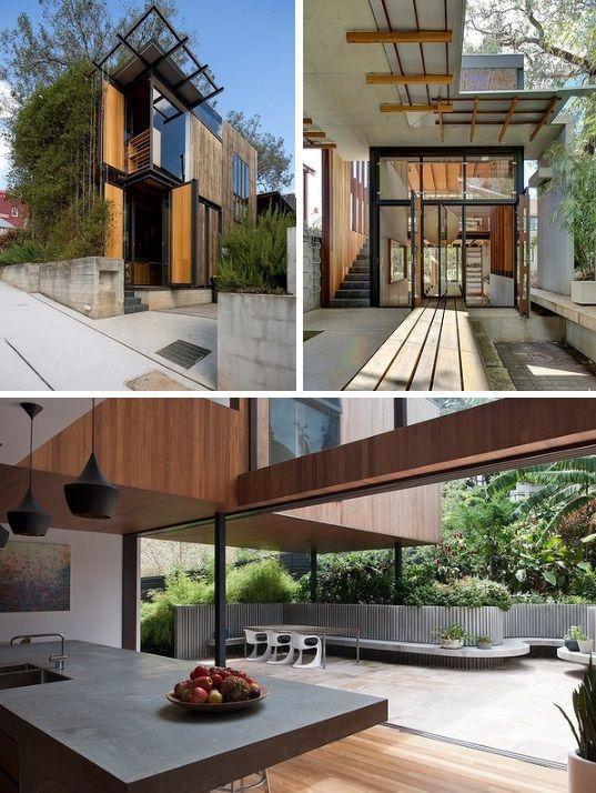 AUSTRALIA, McMahons Point, Sydney. Architect: Drew Heath Architects. Project Name: Tír na nÓg House, 2013. www.drewheath.com