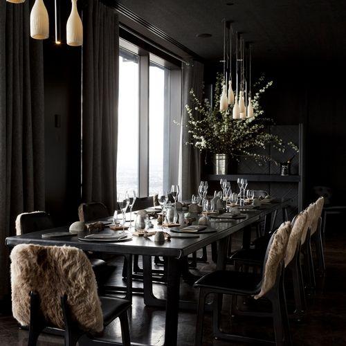 "Chef Shannon Bennett's ""Vue du Monde"" Restaurant.  Dom Perignon Room"