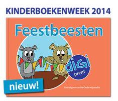 Prentenboek Feestbeesten http://onderwijsstudio.nl/actie-kinderboekenweek-feestbeesten-prentenboeken/