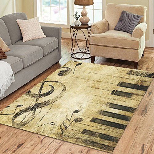 Funky Rugs For A Music Room 7 Must See