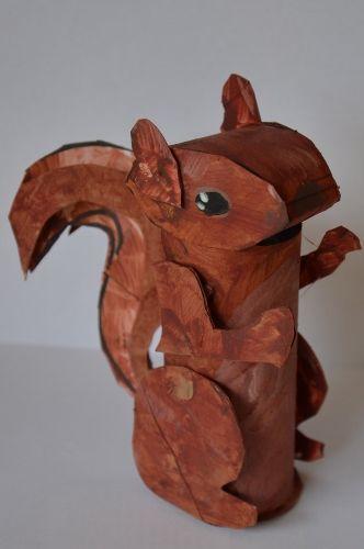 animal craft TP menagerie #wildlifefun4kids