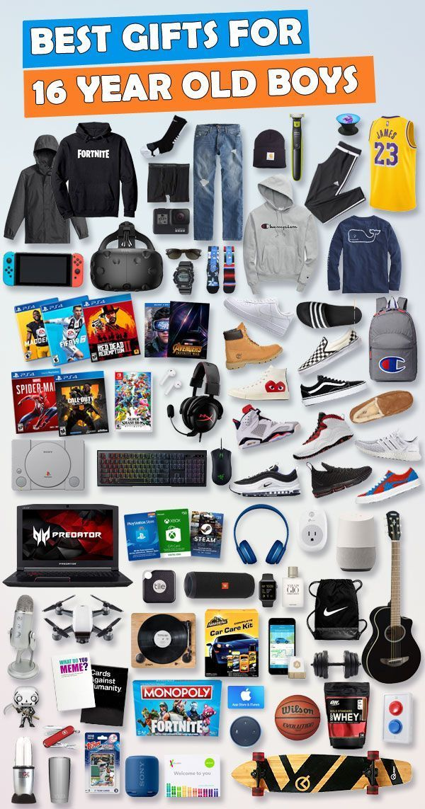 Gifts For 16 Year Old Boys Gift Ideas For 2020 Best Gifts For Boys Cool Gifts For Teens Christmas Gifts For Boys
