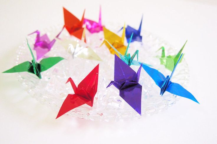 1000 ideas about paper cranes on pinterest origami