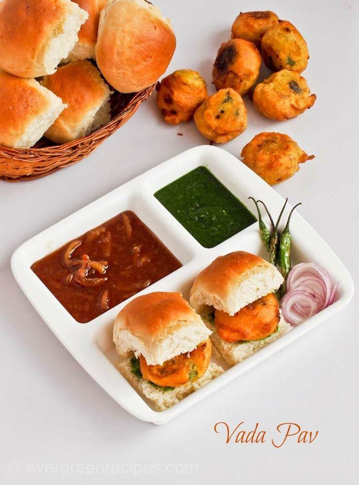 Vada Pav Recipe| Famous Mumbai Street Food ( Vada Pav)
