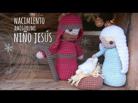Tutorial Belén Amigurumi Part 4: Reyes Magos (Nativity English subtitles) - YouTube