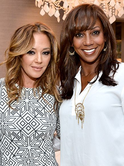 Celebrities host and attend Stella & Dot Trunk Shows too! Leah Remini and Holly Robinson Peete attended the Stella & Dot Trunk Show to benefit The HollyRod Foundation on Thursday in Encino, California.