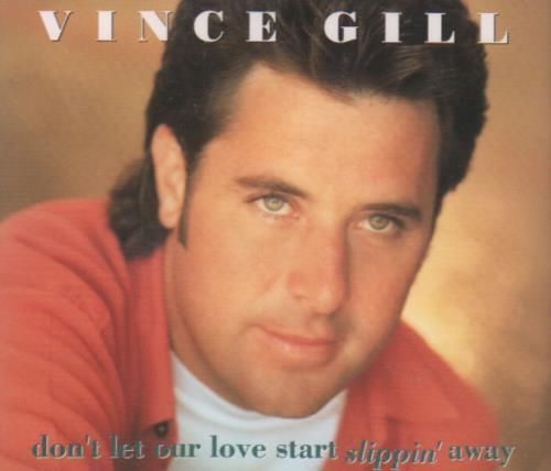 Vince Gill Don't Let Our Love Start Slippin' Away 1993 UK CD single MCSTD1768: VINCE GILL Dont Let Our Love Start Slippin Away (1993 UK…