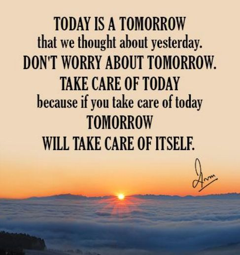 Don T Worry About Tomorrow Bible Quote: Best 25+ Past Quotes Ideas On Pinterest