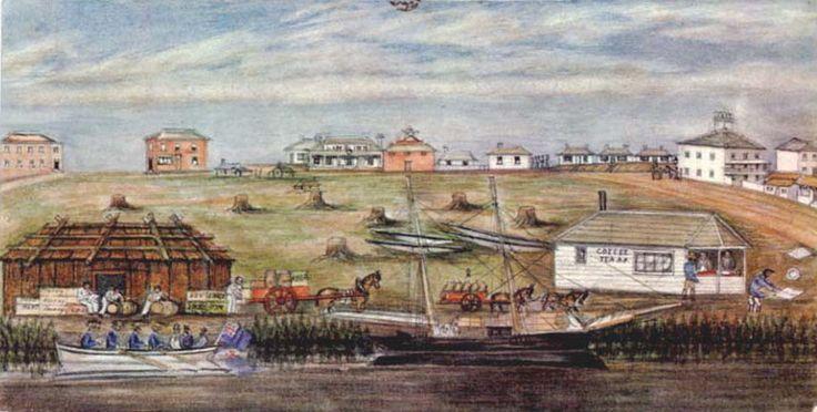 Melbourne Landing,1840