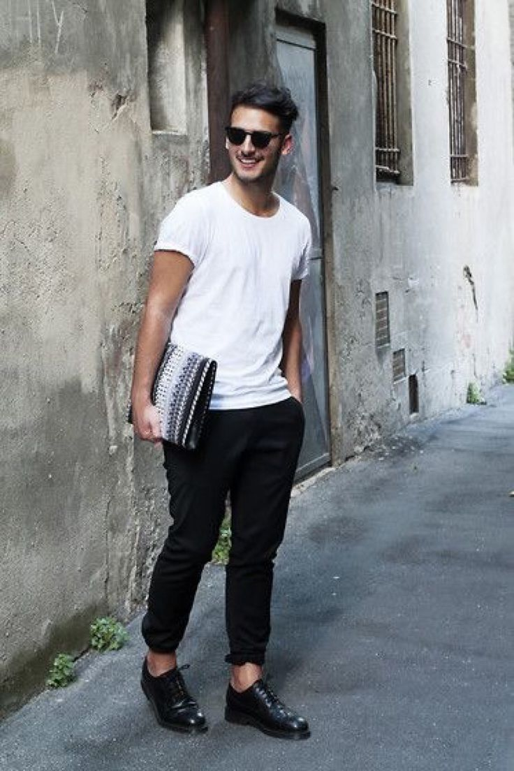 White t shirt fashion tips - A Men S Fashion Lifestyle Moodboard Featuring Men S Street Style Looks Beards And Various Facial Hair Styles Tattoo Art Inspiring Street Fashion