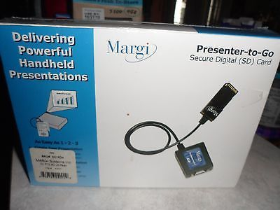 New Margi Presenter-To-Go Secure Digital (SD) Card Model #24001