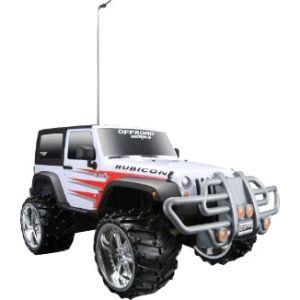 Maisto Tech RC Off Road 1:16 Jeep Wrangler Rubicon, White