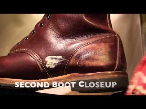 Red Wing 9011 Beckman Boot Care - YouTube